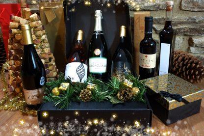 Christmas wine selection